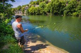 Camping pêche et rivière