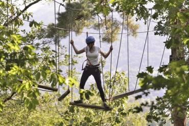 Vert-Tige : parc aventure en forêt